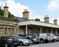 Buxton Train Station, Derbyshire